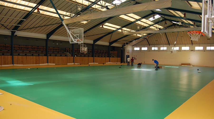 Sports pavilion of Begues