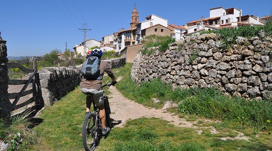 Ruta BTT de Morella a Xiva