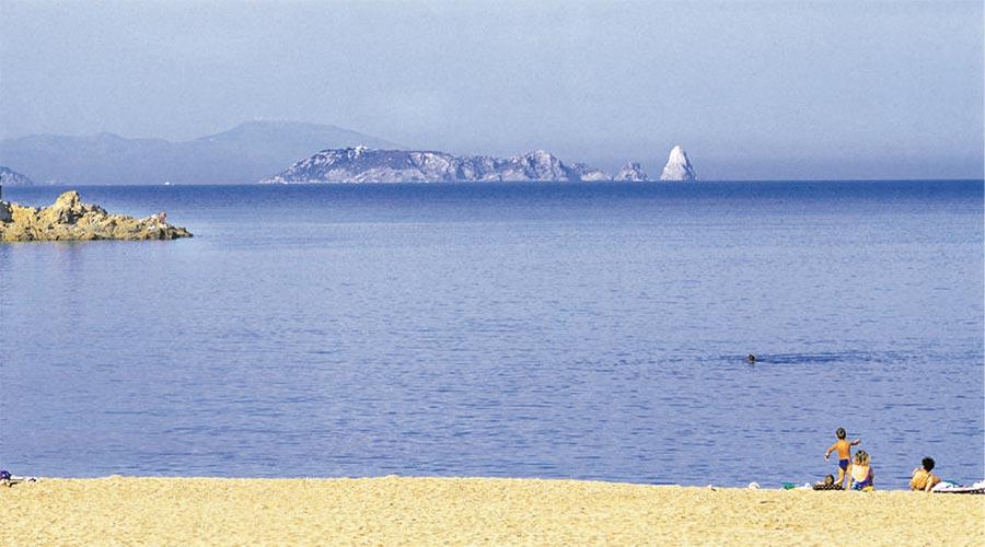 Playa de Sa Riera en Begur