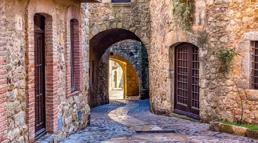 Pals historic centre