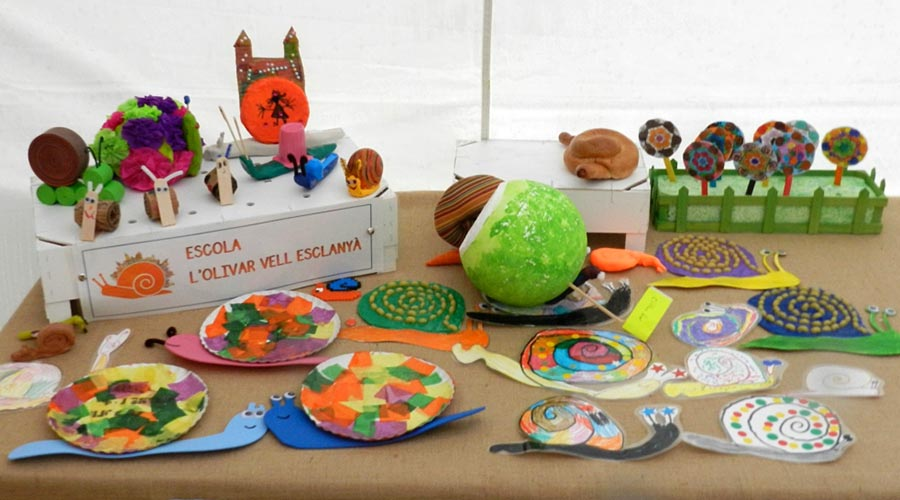 School exhibition Cittaslow in Begur
