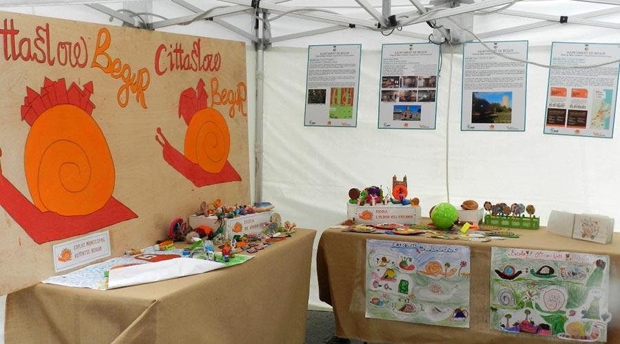 Exposición escolar Cittaslow en Begur