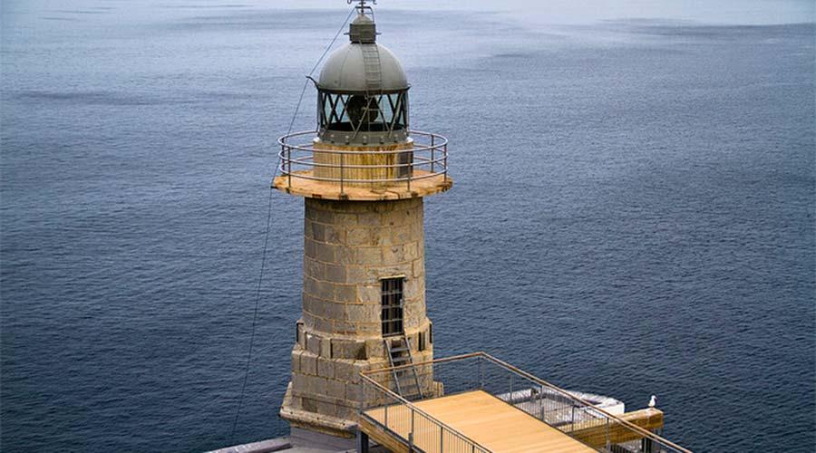 Santa Katalina Lighthouse in Lekeitio