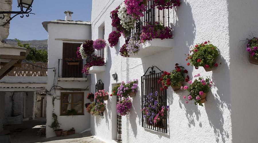 Casa típica de Bubión