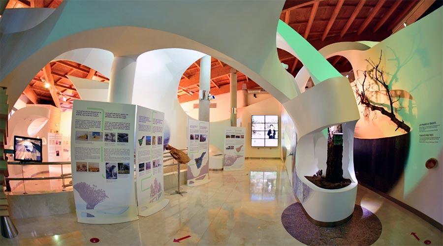 Centro de interpretación del Parque Natural del Teide