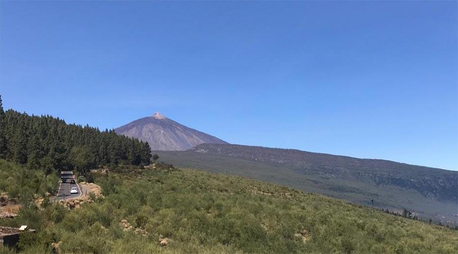 Mirador vista a La Palma