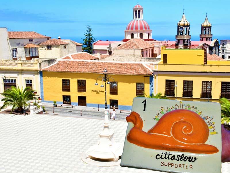 Sello de calidad Cittaslow Supporter en La Orotava, Tenerife