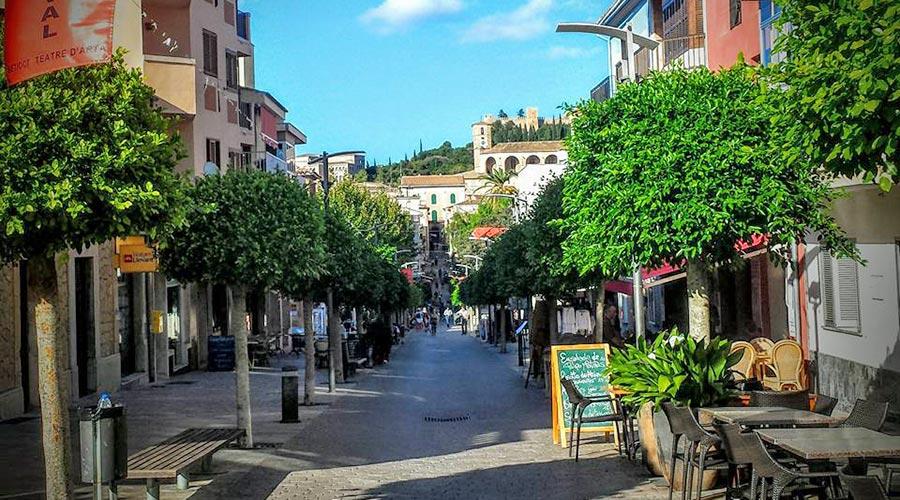 Artà city street
